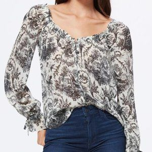 Paige Button Front Kiki Blouse